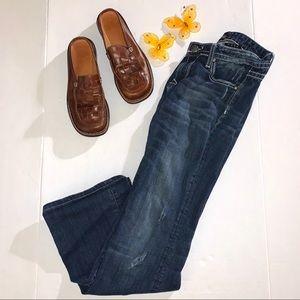 Bebock for Express Dark Wash Boot Cut Jeans